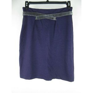 Girls from Savoy Attached Velour Belt Pencil Skirt